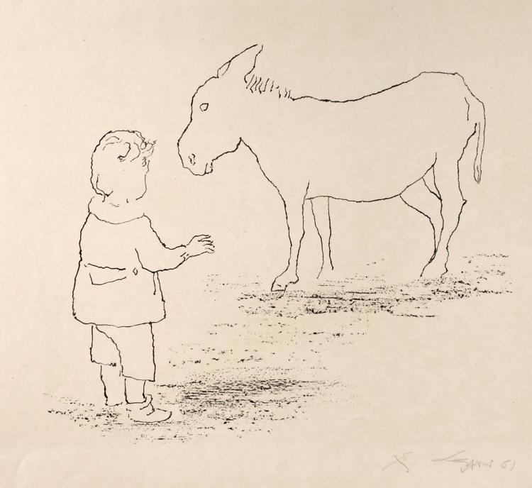 Rudi Lesser, Der Esel