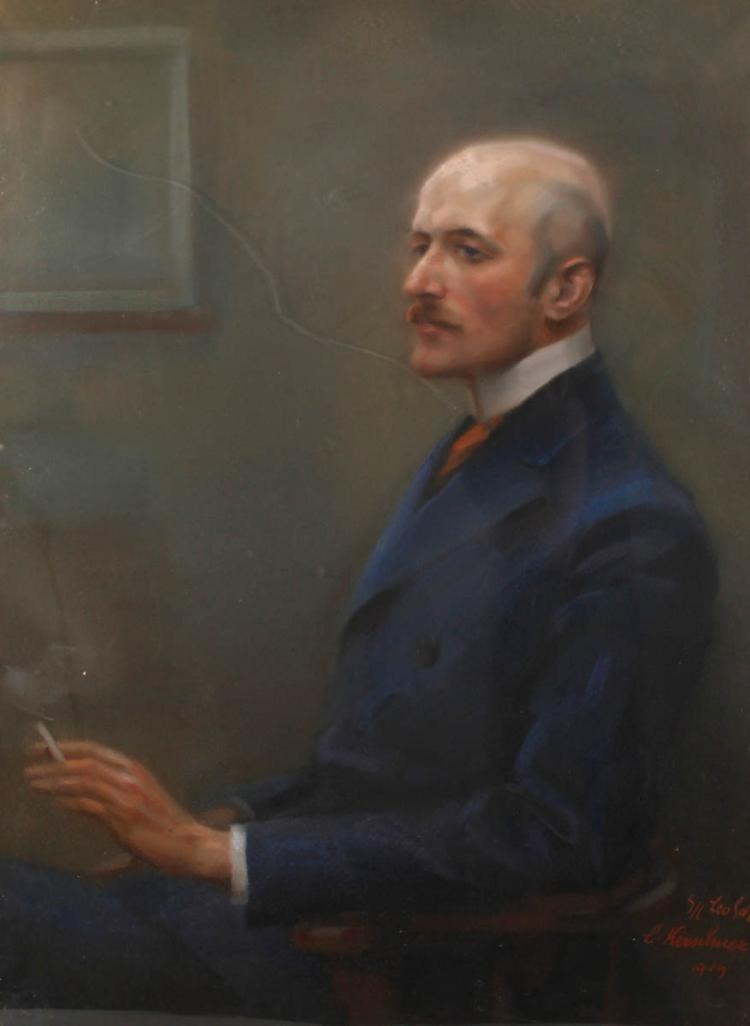 Prof. Ludwig Kirschner, Portrait Leo Scholz
