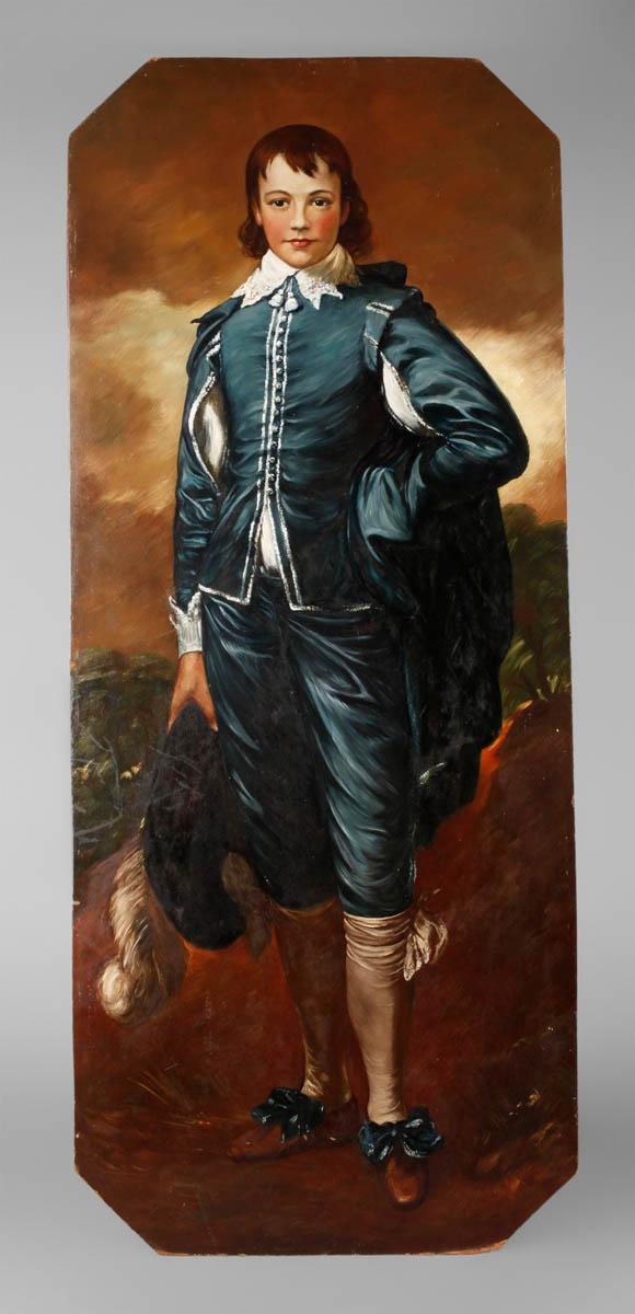 """Johannes Hegner, """"Der Knabe in Blau"""""""