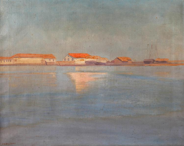 Eduard Otto von Braunthal, Stille Küstenlandschaft