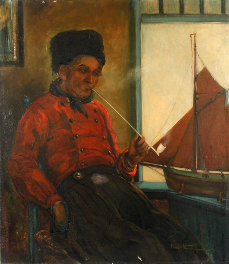 Hubert Hannemann, Fischerpotrait