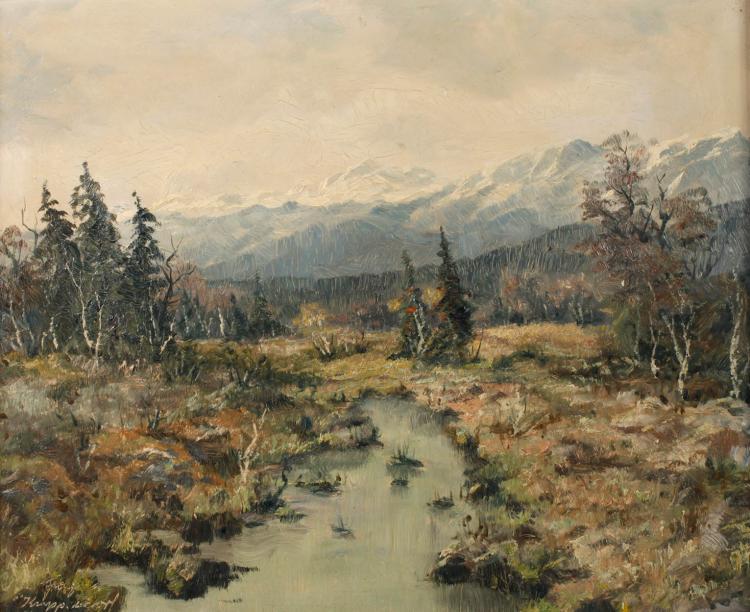 Franz Krippendorf, Hochmoor in den Alpen