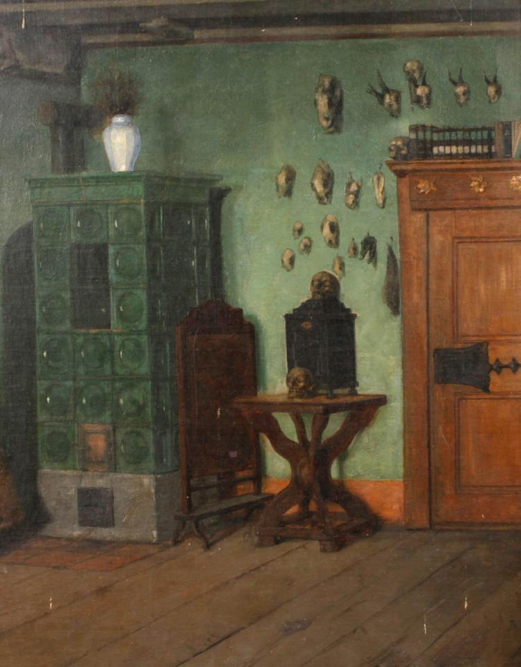 Heinrich Lessing, Gelehrtenstube