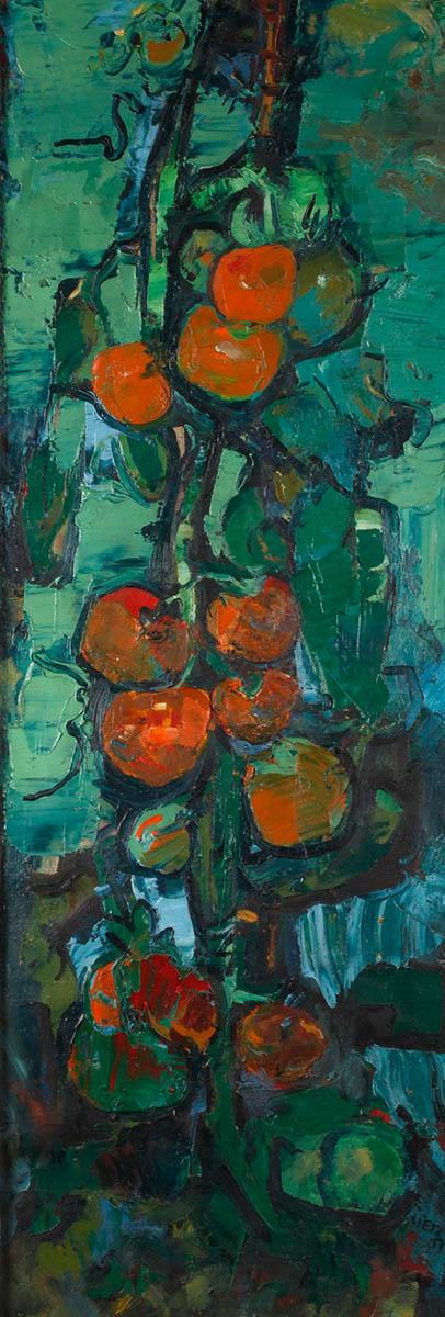 Heinrich Lietz, Tomatenstillleben