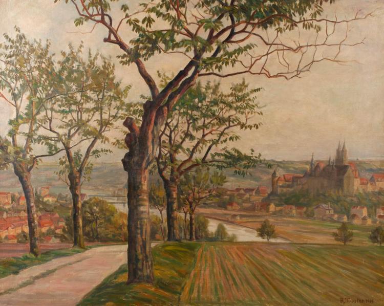 Rudolf Treuter, Meißen mit Albrechtsburg