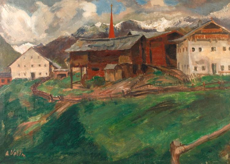 Anton Velim, Alpendorf