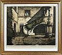 Marten van der Loo, Innenhof Blick in einen