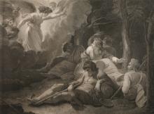 William Skelton, Die Engel erscheinen den Hirten