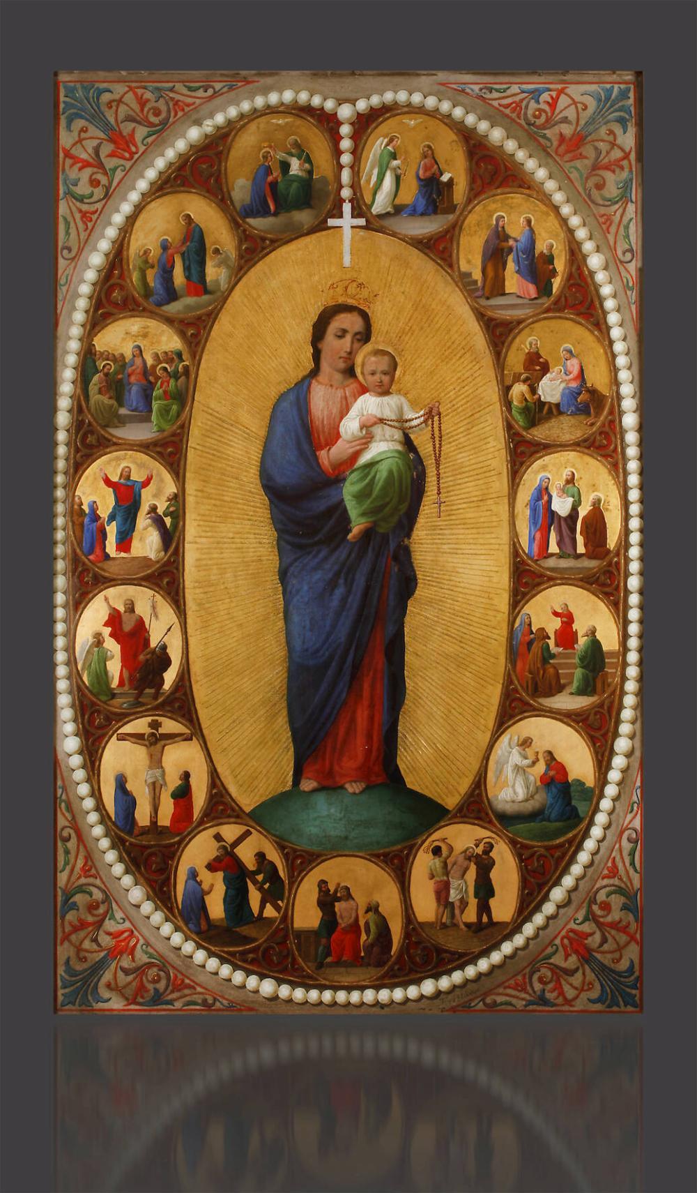 Josef Mánes, Rosary Madonna