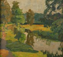Carl Jörres, Sommer am Kanal