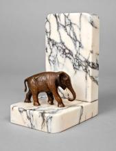 Buchstütze Elefant