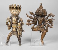 Zwei figürliche Bronzen
