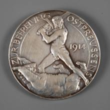 Silbermedaille 1914