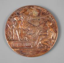 Bronzemedaille Frankreich 1889