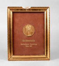 Bronzemedaille Paris 1937