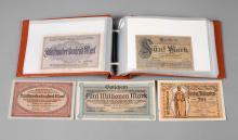 Sammlung Geldscheine Bezirk Plauen