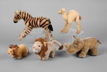 Steiff Konvolut Zootiere