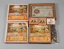Richter & Co. Konvolut Spiele