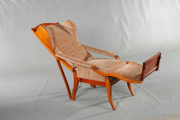 liegesessel biedermeier. Black Bedroom Furniture Sets. Home Design Ideas