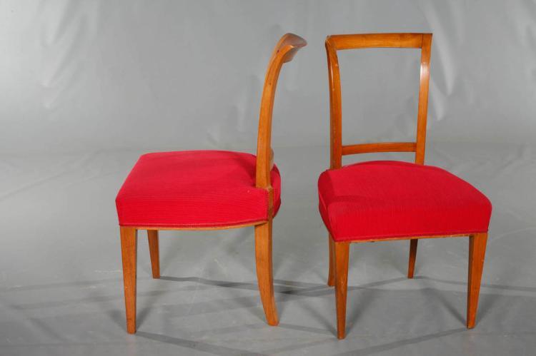 vier biedermeierst hle. Black Bedroom Furniture Sets. Home Design Ideas