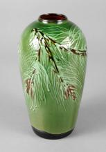 Tonwerke Kandern Vase Schlickermalerei