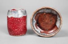 Mutz kleine Vase und Schale