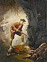Otto Keck, Wildererszene