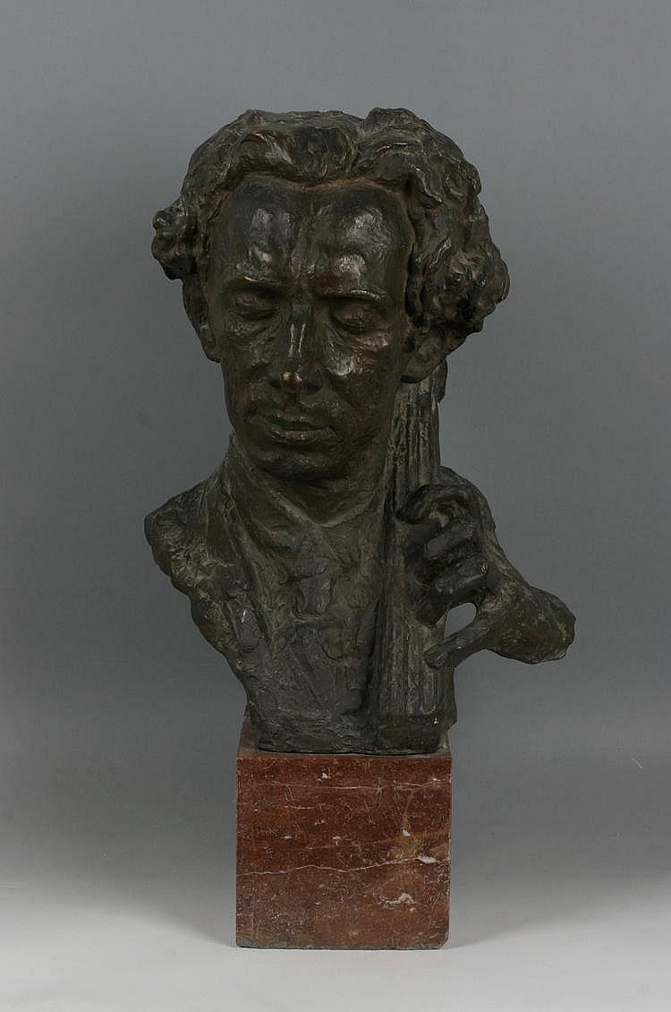 OTAHAL Karel (*19. 1. 1901 Kostelec na Hane) Bust