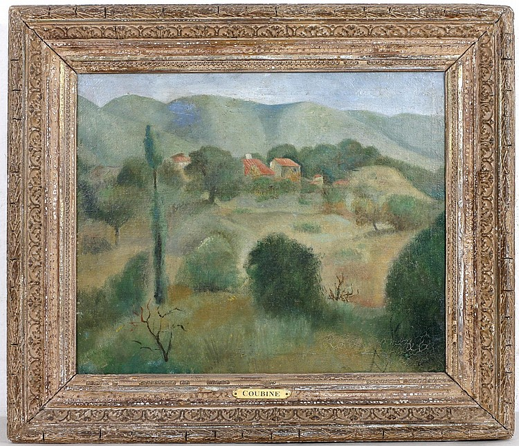 KUBIN (COUBINE) Otakar (Othon) (22. 10. 1883