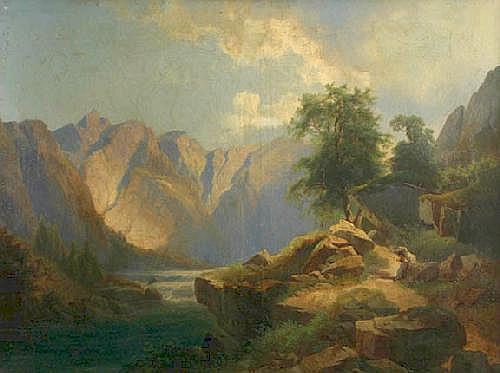 THOMA Josef (27. 9. 1828 Viden - 15. 12. 1899