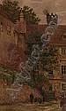 GRANER Ernst (25.9. 1865 Werdau - 1943) Town motif