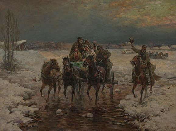 PRUCHA Gustav (19. 7. 1875 Vienna - 1952) Merry
