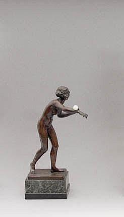 JAEGER Gotthilf (29.6.1871 Koln - 1933) Dancer
