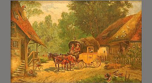 ROHRHIRSCH Karl (1875 Munich - 1954 Greding) At an