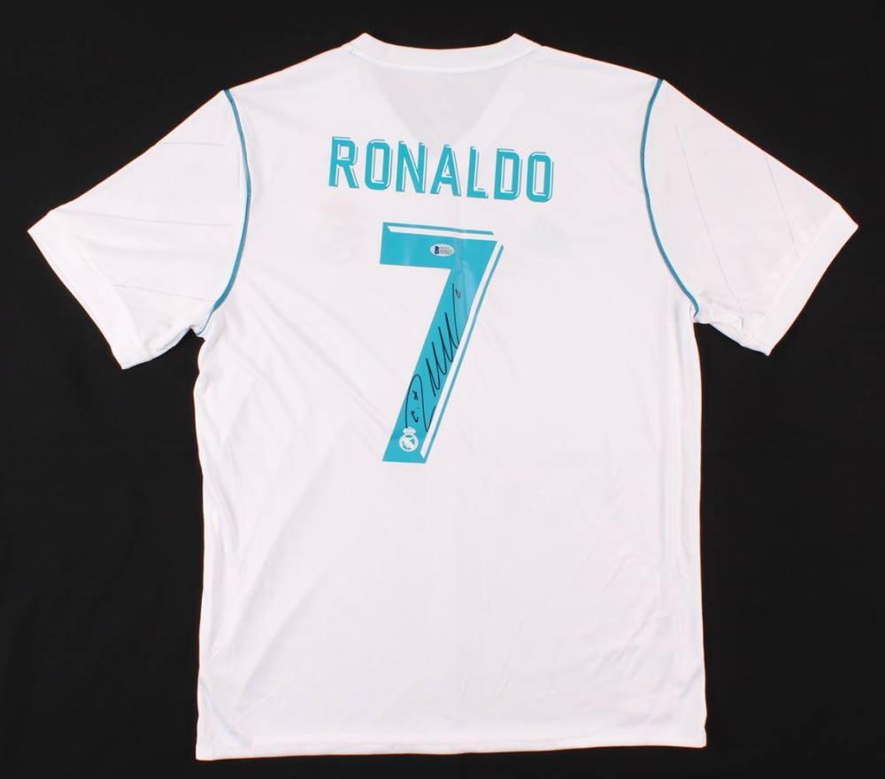 Cristiano Ronaldo Signed Real Madrid Jersey