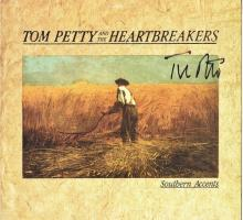 Tom Petty and the Heartbreakers Signed Autographed Southern Accents Album Cover