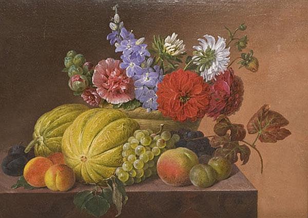 Johannes Ludwig Camradt (1779-1849) Stilleben mit