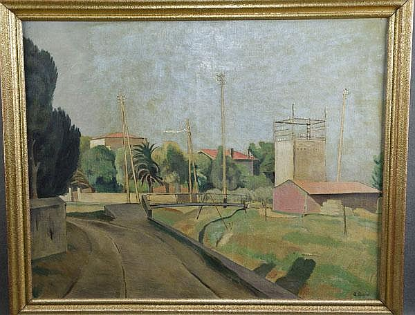 "Alfred Dupré (1904-1956). ""Sanary"