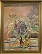 Will Sohl (1906-1969). Blumenstilleben. Öl/Lw.,