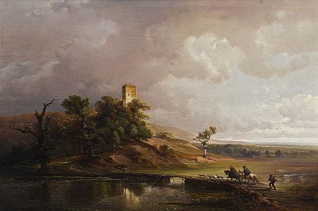 Caspar Johan Nepomuk Scheuren (1810-1887). Zwei