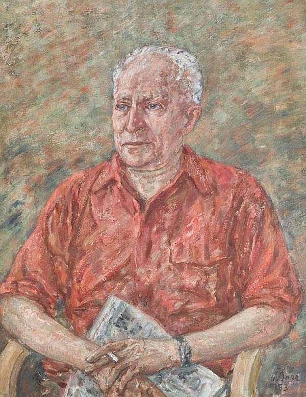 Mathias Barz (1895-1982). Porträt von Jacob