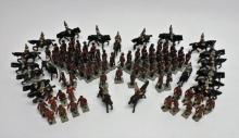 (100) Vintage British Toy Soldiers Johillco
