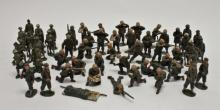 (54) Vintage WWI WWII Toy Soldiers Authenticast
