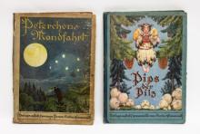 (2)Jugendstil German Language Fairytale Books
