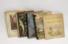 (5)Jugendstil German Language Fairy Tale Fables