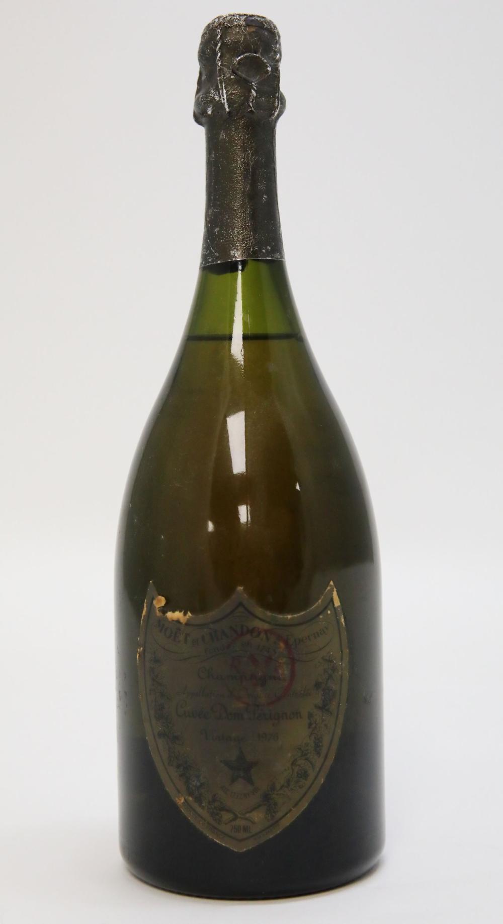 Moet et Chandon Dom Perignon Champagne 1976