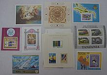 20 Souvenir Sheets, All Different