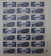 2 Mint Sheets, #1569-70 &1912-19