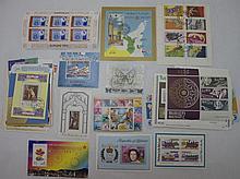 100 Souvenir Sheets, All Different