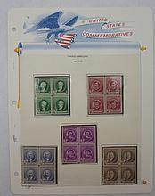 Scott 884-888 (Famous Americans-Artisits) Blocks4